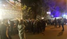 النشرة: 5 جرحى بحادث سير بين 5 سيارات امام مقاهي البردوني في زحلة