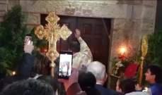 الطوائف المسيحية أحيت عيد الفصح في كاتدرائية مار توما للروم الأرثوذكس في صور