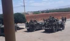 النشرة: الجيش يدخل حورتعلا ويقيم عددا من الحواجز الثابتة على خلفية الاشتباكات بالبلدة