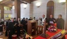 سبيتاري زار مطرانية دير الأحمر والتقى الكهنة والراهبات