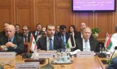 أفيوني: الاقتصاد الرقمي فرصة للشعوب العربية ولوضع استراتيجية عربية مشتركة