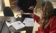 النشرة: الصليب الاحمر وزع مساعدات على النازحين السوريين في حاصبيا