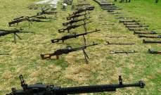 الجيش السوري يواصل تأمين بلدات بريف درعا والسويدا ويعثر على أسلحة