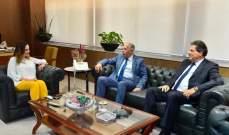 وزيرة الاعلام بحثت مع مستشار في البنك الدولي في دور الاعلام وتحديث الادارة
