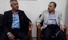 """الحسنية التقى """"الاتحاد الوطني الكردستاني"""" وتأكيد أولية مواجهة الارهاب والاحتلال"""