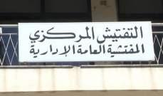 المفتشية العامة الهندسية في التفتيش المركزي جالت على الادارات الرسمية في بيروت وجبل لبنان
