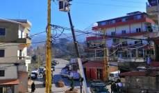 سرقة أسلاك كهربائية للمرة الثانية في سير الضنية ما أدى لانقطاع التيار عن البلدة