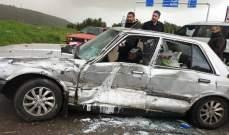 جريحان في حادث سير في القليعة قضاء مرجعيون