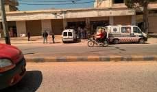 الدفاع المدني: جريح جراء حادث سير عند نقطة المصنع الحدودية