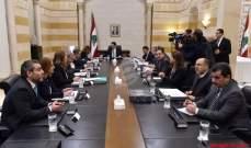 مصادر الشرق الاوسط: لجنة صياغة البيان الوزاري لم تتوصل بعد لصيغة حول بند المقاومة