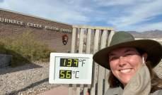 تسجيل أعلى درجة حرارة بالأرض خلال أكثر من 100 عام
