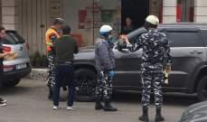 النشرة: حواجز أمنية عند مداخل النبطية بهدف تطبيق قرار وزارة الداخلية