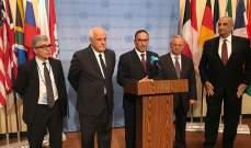 النشرة: الكويت قدمت مشروع بيان رئاسي حول فلسطين مدعومة من اندونيسيا وجنوب افريقيا بمجلس الأمن