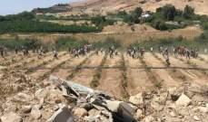 الجزيرة: متظاهرون يقتحمون السياج الحدودي بين لبنان وإسرائيل والجيش الإسرائيلي يطلق عليهم النار