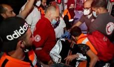 الهلال الأحمر الفلسطيني: 22 إصابة بالمواجهات بين الفلسطنيين والشرطة الإسرائيلية بالقدس