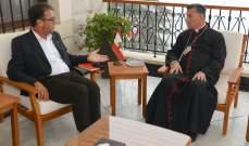 الراعي التقى فوشيه بزيارة وداعية وعرض معه المبادرة الفرنسية