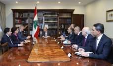 رئيس الجمهورية بحث مع كوبيتش وسفير بريطانيا نتائج اجتماع باريس