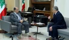 طرابلسي قدم لعون نسخا عن اقتراح قانون الإعفاءات من رسوم نقل الملكية بالمية ومية