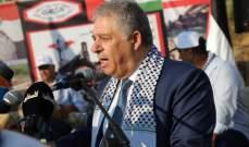 دبور: سننتصر على كل هذه المحاولات لتصفية القضية الفلسطينية