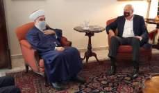 ميقاتي خلال استقباله مفتي طرابلس والشمال: مفتاح النمو في طرابلس هو المرفأ