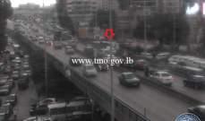 التحكم المروري: 5 جرحى نتيجة تصادم بين 4 مركبات على اوتوستراد جونية