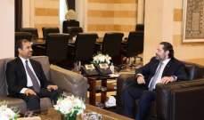 الحريري استقبل لاسن و سفير بنغلادش ووفودا