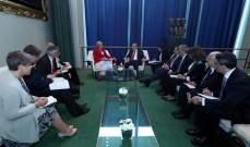 الرئيس عون: نؤكد وقوف لبنان في مواجهة الارهاب