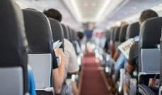 اعتقال إمرأة بعد العثور على مولودها ميتاً في مرحاض طائرة