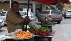 النشرة: حركة سيارات ناشطة بصيدا وبعض محال الصيرفة فتحت أبوابها وانتشار لعربات العصير