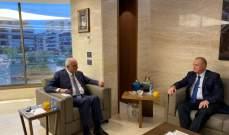 خليل استقبل سفير روسيا ألكسندر روداكوف وبحث بالأوضاع العامة
