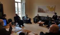 اجتماع بقصر بلدية زحلة ناقش تنظيم أمسيات ترنيمية ميلادية بكنائس زحلة