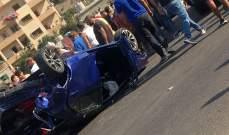 النشرة: قتيلة وجريحين بحادث سير مروع على طريق الجنوب محلة البيسارية