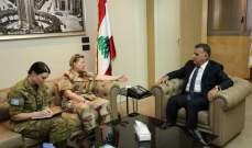 ابراهيم استقبل لازاريني ووفداً من الجبهة الشعبية ورئيس لجنة مراقبة الهدنة