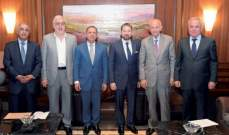 النشرة: لقاء النواب السنة مع إبراهيم للتشاور واسم ممثلهم لم يحسم بعد
