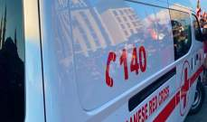 4 فرق من الصليب الأحمر اللبناني تعمل على إسعاف المصابين في رياض الصلح