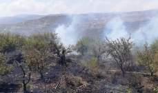 الدفاع المدني: إخماد حرائق مختلفة في الكورة وعكار والشوف وكفرمتى وبسوس