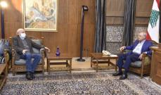 جنبلاط عرض مع بري للتطورات الأخيرة وأكد حكمته ودوره الجامع ومسؤوليته الوطنية