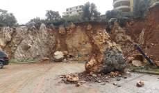 النشرة:  انحسار العاصفة في حاصبيا وتحسن حالة الطقس