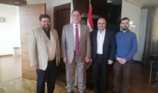 الهيئة الوطنية للعلوم والبحوث عرضت برنامجها مع وزير الصناعة