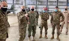 قائد العمليات الخاصة بالجيش الأميركي أكد التزام بلاده بدعم احترافية الجيش اللبناني وتقدمه