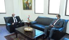 وهبه استقبل كوبيتش مودعا وأثار مع الشامسي قضية الموقوفين اللبنانيين في الامارات