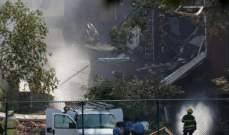 قتيل و9 مصابين بإنفجار غازي تسبب في انهيار مبنى بمدرسة في منيابوليس