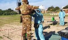 تمارين مشتركة بين اليونيفيل الإيطالية والجيش حول السلامة البيئية