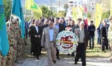 وفود متعددة زارت المعلم التذكاري لعماد مغنية في بلدة طيردبا