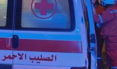 الصليب الأحمر: نقل 11 جريحا من مظاهرات رياض الصلح وساسين وصور وصيدا إلى المستشفيات