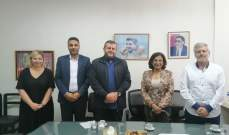 وفد من حزب الله زار مؤسسة معروف سعد الثقافية الخيرية الإجتماعية بصيدا