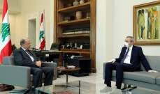 الرئيس عون استقبل السفير البريطاني في لبنان