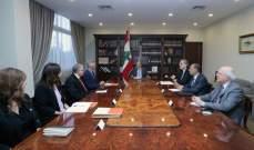 الرئيس عون: لبنان متمسك بعودة النازحين والدولة السورية ترحّب بذلك