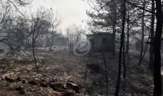 حريق المشرف: استقدام طائرات قبرصيّة واحتمال التعمّد كبير