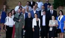 السفارة الفرنسية تقلّد الأب عازار السعفة الأكاديمية لمساهمته في إغناء التراث التربوي الفرنسي اللبناني
